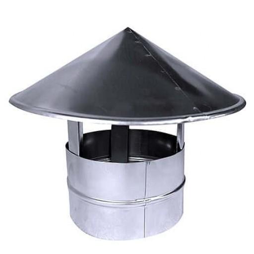 Зонт вытяжной круглый Ø100
