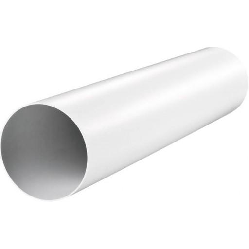 Воздуховод круглый пластиковый ПВХ Ø100 L-350 (10035)