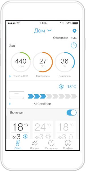 Tion MagicAir - Мобильное приложение