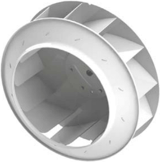 Центробежный вентилятор Nevatom ВР-86-77 ОН - Рабочее колесо