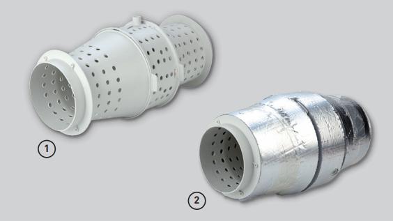 Шумоизолированный канальный вентилятор Soler&Palau TD Silent - Шумоизоляция
