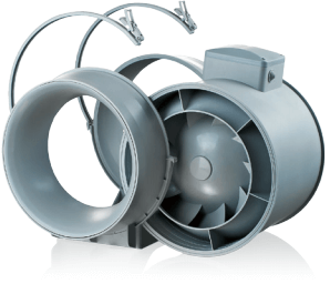 Канальный вентилятор Вентс ТТ - Разборный корпус