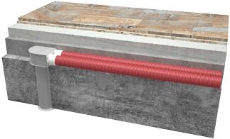 Пленум потолочный металлический Vents FlexiVent 0811125/75x3 / DN75 - Вариант монтажа 2