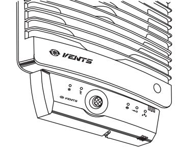 Блок управления вентилятором Вентс БУ-1-60 ТНРФ - Монтаж