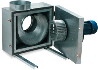 Кухонный вентилятор Вентс КСК - Откидной двигатель